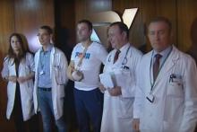 Le reimplantan la mano a un operario de las obras del AVE en el Hospital Povisa de Vigo